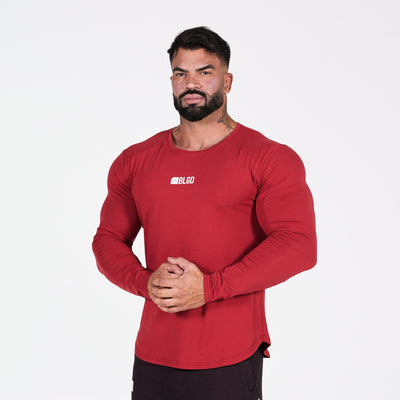 Chronos - Long Sleeve Red