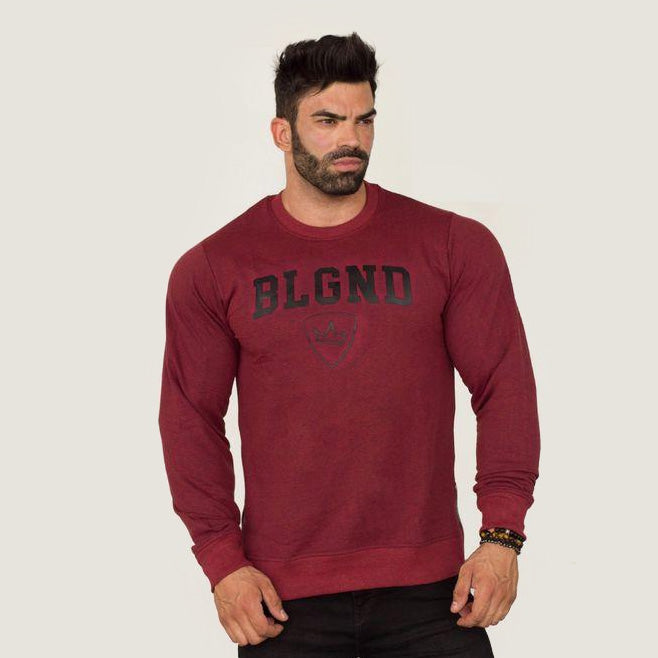 Sweater - BLGND - Burgundy