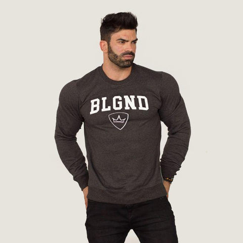 Sweater - BLGND - Charcoal