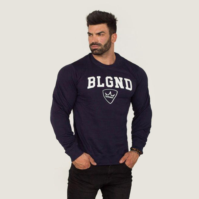 Sweater - BLGND - Navy Blue