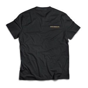 FittedUK Basic T-Shirt, Black
