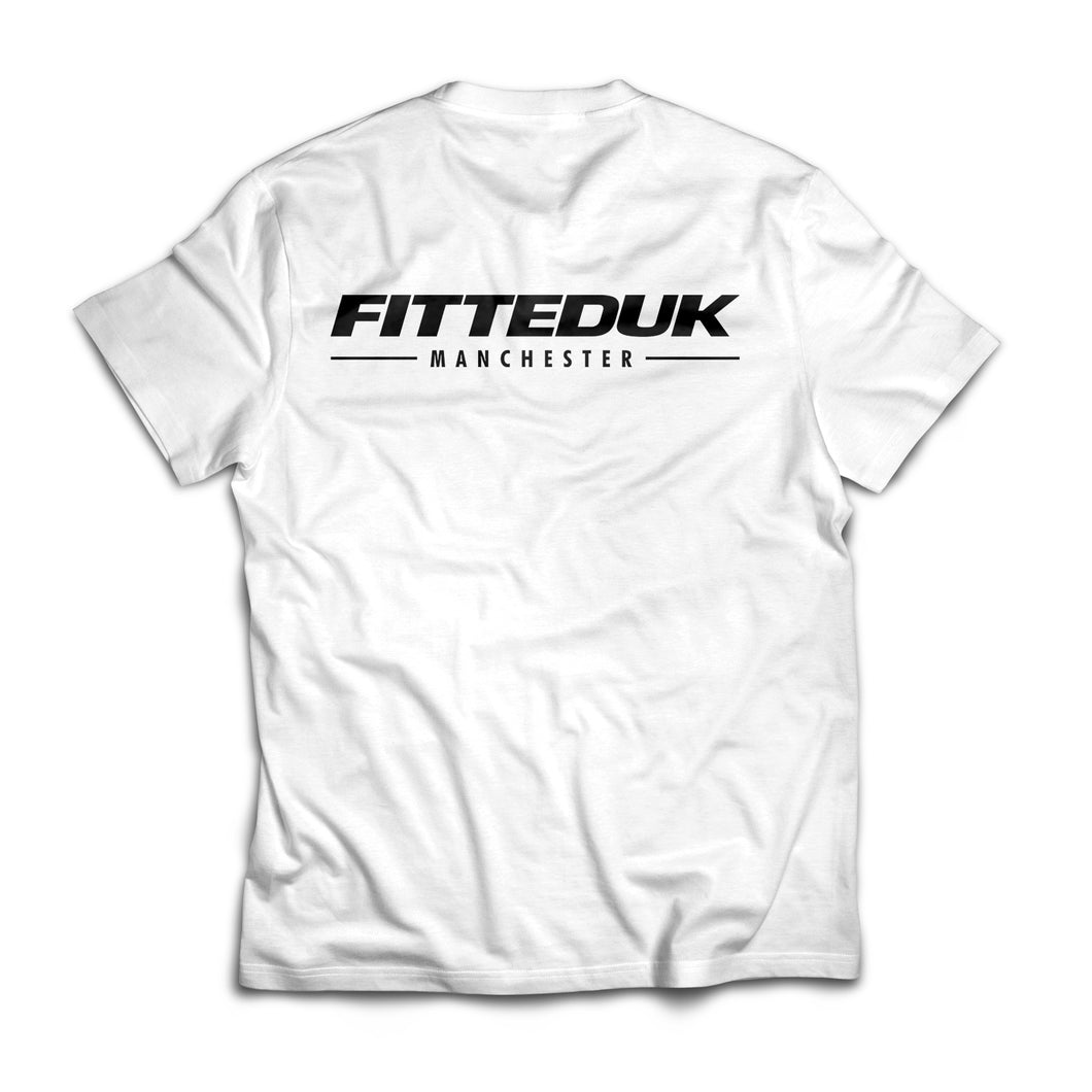 FittedUK Basic T-Shirt, White