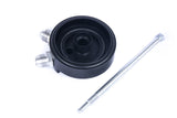BMW M50/M52/S50/S52 oil filter cap with AN fittings