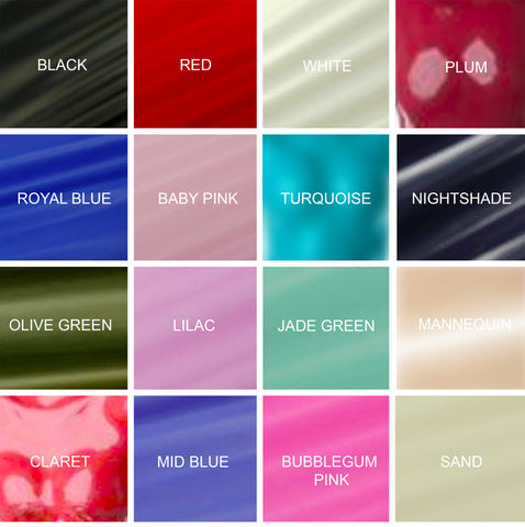 Colour Chart Dead Lotus Couture
