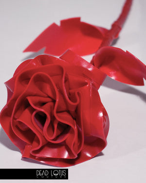 Latex Rose Flower with Stalk