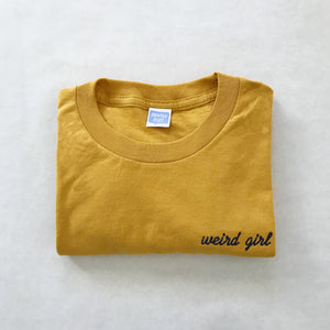 Weird Girl Embroidered Tee