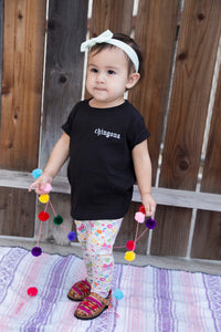 Chingona Children's Embroidered T-Shirt