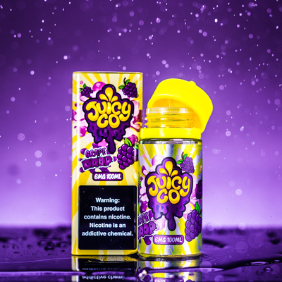 Juicy Co. - Grape Drop 100ML - Liquid Guys