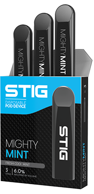 STIG Disposable Pods - Mighty Mint 3 Pack
