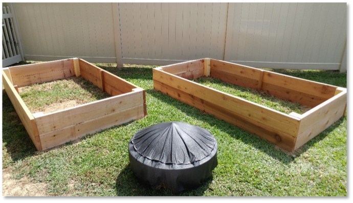 DIY Cedar Raised Garden Bed