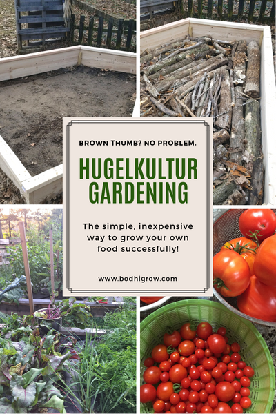 Hugelkultur for Easy and Prolific Raised Bed Gardening