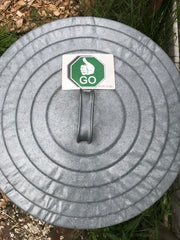 stop and go compost bin trash can magnets