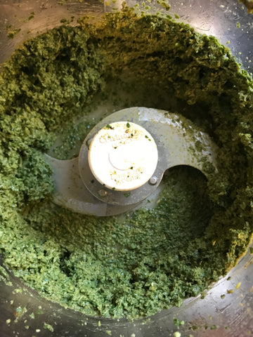 Basil pesto in food processor recipe