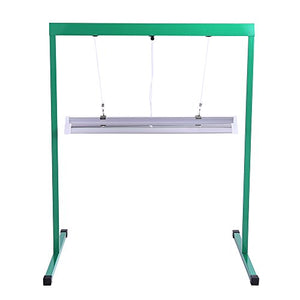T5 Fluorescent Grow Light Stand for Seed Starting & Plant Growing (2 ft long)