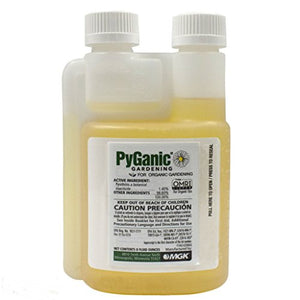 PyGanic Botanical Insecticide - Pyrethrin Concentrate (8 ounces)