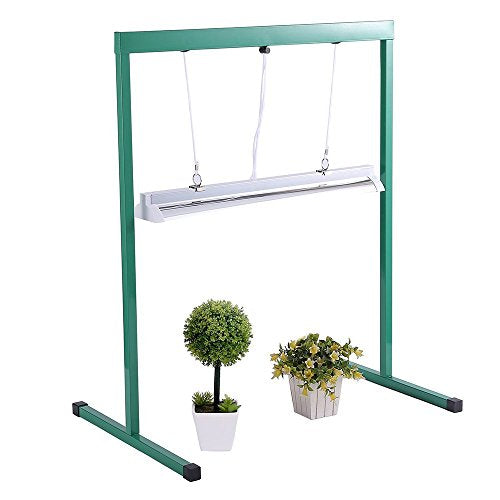 T5 Fluorescent Grow Light Stand For Seed Starting Plant Growing 2 F Bodhigrow