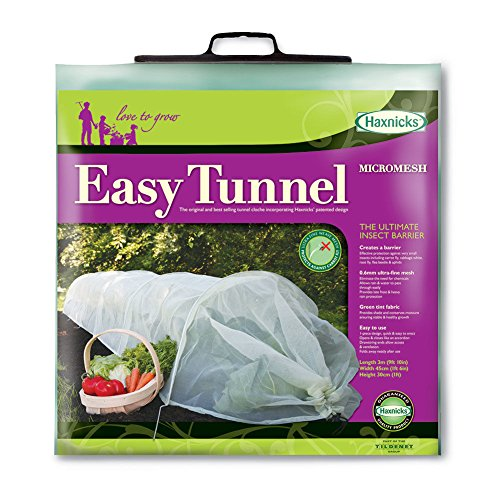 Micromesh Garden Tunnel for Insect Protection