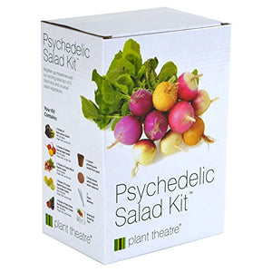 Psychedelic Salad Kit - 5 Fantastic Salad Vegetables to Grow