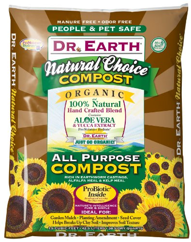 Dr. Earth 803 1-1/2 Cubic Feet All Purpose Compost