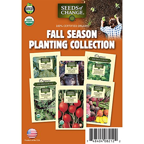 Seeds of Change Fall Season Garden Seed Collection