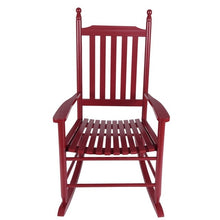 Wooden Porch Rocking Chair