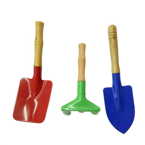 Sturdy Kids Garden Tools (3Pcs)