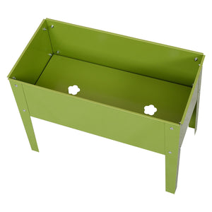 "24.5"" x 12.5"" Outdoor Elevated Garden Bed Box Planter"