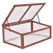 Portable Wooden Greenhouse/Coldframe