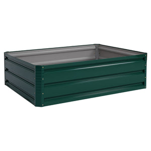 "39.5"" x 31.5"" Patio Raised Garden Bed for Vegetable Flower Planting"