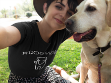 Dog Mom Women's T-shirt | #DogMom T-shirt for Women