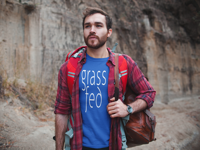 Grass Fed Short Sleeve T-shirt | Grass Fed Unisex T-shirt