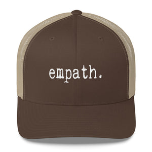 Empath Trucker Snapback Brown and Khaki
