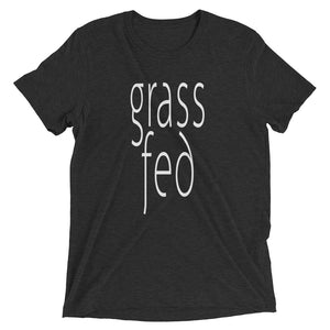 Grass Fed T-shirt Charcoal