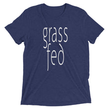 Grass Fed T-shirt Navy
