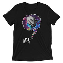 Women's Cow Thought T-shirt Black