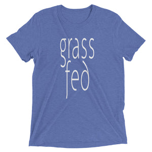Grass Fed T-shirt Light Blue