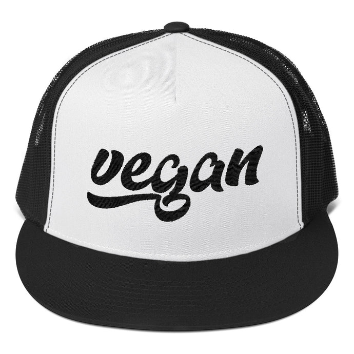 Retro Vegan Trucker Cap