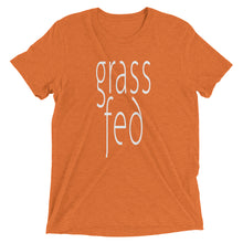 Grass Fed T-shirt Orange
