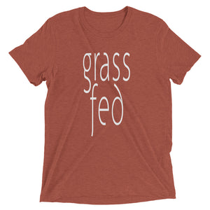 Grass Fed T-shirt Clay