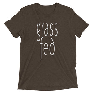 Grass Fed T-shirt Brown