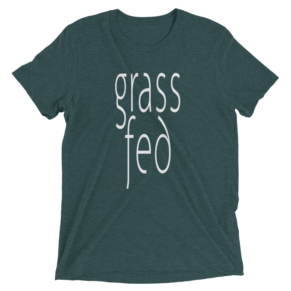 Grass Fed T-shirt Emerald