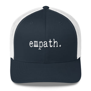 Empath Trucker Snapback Navy and White