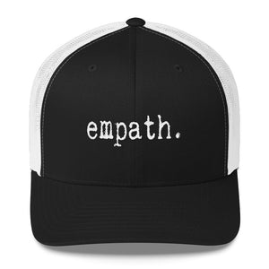 Empath Trucker Snapback Black and White