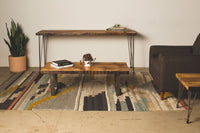 Console Table with Hairpin Legs