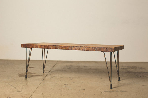 Coffee Table with Hairpin Legs