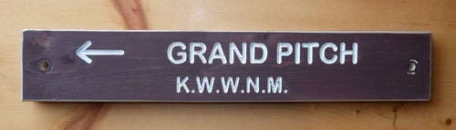 Grand Pitch Trail Sign