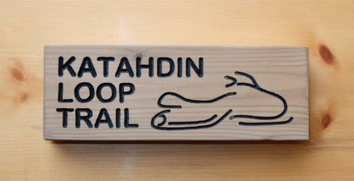 Katahdin Loop Trail Sign