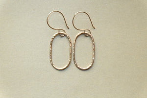 Gold-filled Dangle Earrings