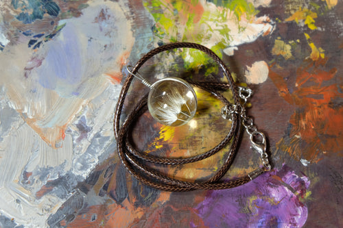 Glass Globe Necklace