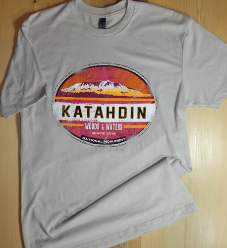 Katahdin W&W oval Adult T-Shirt